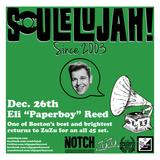 "Eli ""Paperboy"" Reed at Soulelujah 12/26/2015"