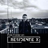 DJ Set Pole Folder Residente X
