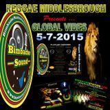 REGGAE MIDDLESBROUGH - GLOBAL VIBES - BIMBACHE STATION