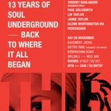 Jamie Taylor & Glenn Worthington at Soul Underground's 13th Anniversary - 29th November 2014