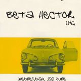 BETA HECTOR'S ALL VINYL MIXTAPE FOR FLEXIBLE SOUNDS RADIO