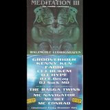 Kenny Ken + Ragga Twins + Navigator + MC Det @ Meditation 3, Walzmuehle, Ludwigshafen (16.03.1996)