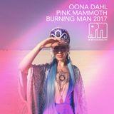 Öona Dahl - Pink Mammoth - Burning Man 2017