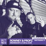 Rowney & Propz, With Filthy Habits, #UnityRadioDNB, Explicit (Parental Advisory), [2019 04 10]