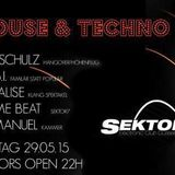 S.E.B.I. played at We Love House & Techno
