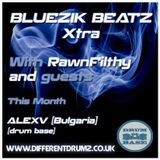Bluezik Beatz #7 Guest mix by AlexV [BUL] Live on Different Drumz [15-07-16]