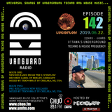 TEKNOBRAT on Episode 142 of Vanguard Pulse Radio 2019-06-22nd on CHUO 89.1 FM + CJUM 101.5 FM