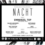 "Emmanuel Top at ""Nacht #4"" @ Le Petit Salon (Lyon - France) - 9 July 2016"