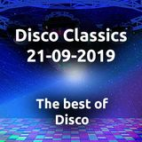 Disco Classics Radio Show 21-09-2019 eerste uur