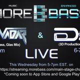 More Bass Radio- InnoVadar & DATA DRoP 10-18-2017