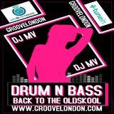 Dj Mv - Oldskool Drum N Bass Show (Friday 22nd February 2019) (Groovelondon Radio)