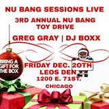 Greg Gray Live at Nu Bang's 3rd Annual Toy Drive (Chicago)