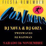 Twinwaves - Live @ 17 Aniversario Columbus (16-11-2013)