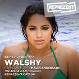 DJ Walshy with Malin Andersson | 7th April 2017
