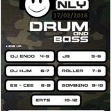 KJM - Onlyoldskool.com DnB Nite (1 Hr. 17/2/16)