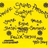 """Joeski (Chocolate Factory NYC) - """"Live at Sunset Point Molate"""" on March 24th 1996"""
