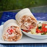 The Greek Burrito mixxxxx- its even better than it sounds.. lol