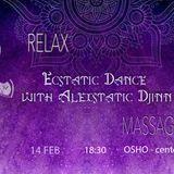 AleXstatic DjInn - Ecstatic Dance on St. Valentine Day // 14.02.2019