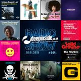 DEEPINSIDE RADIO SHOW 044 (Carolyn Harding Artist of the week)