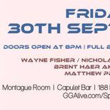 Wayne Fisher - Spectrum @ Capulet 30.09.16