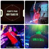 Viktor Bodrovski @ Forty Five NYE