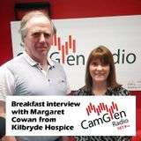 Breakfast interview with Margaret Cowan from Kilbryde Hospice, 7 Mar 2017