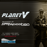 Planet V Radio on Bassdrive  with Simplification February 2018