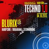 BLURIX LT - Live @ Hard²Core presents TECHNO 1.0 (Aquarius A1, Zagreb - 04.10.2013)