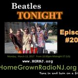 Beatles Tonight 03/13/17 E#200 This is our 200th show!!! More of the Fabs, cool covers & rarities!