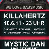 D.I.S & DUBWISER MC  & Mystic Dan@ Killa Hertz pt.18 Warm Up! pt.2