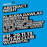 Sebastian Groth @ Abstract Night - Butan Club Wuppertal - 29.11.2013