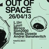 out of space 26/04/13