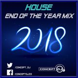 Concept - End of the Year Mix 2018 (House) [24.12.2018]