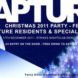 Cypher Rapture Christmas Party Mix Saturday 17th December 2011