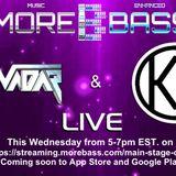 More Bass Radio- InnoVadar & Ken Lazee 5-16-2018
