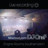 @DJOneF LIVE @ Engine Rooms Southampton 29.09.17 [Remixes]