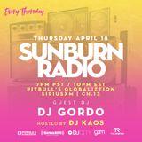 Sunburn Radio Guest Mix on SiriusXM Ch. 13