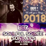 Soulful Soiree Featuring Rob Randell (BBR NYE Special)   31st December 2017