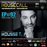 Housecall EP#92 (11/07/13) incl. a guest mix from Mousse T.