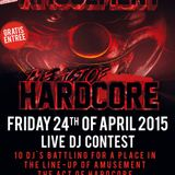 DJ Clash - Live DJ Contest Amusement The Act Of Hardcore