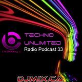 DJ Bobby C - Techno Unlimited Radio Podcast #33 (2018-05-19) DJMIX.CA