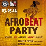 codec7 @afrobeat party cologne - 03-05-2014