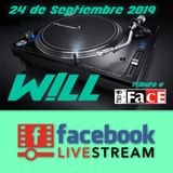 W!LL - Set Facebook Live Tributo a The Face (24-09-2019)