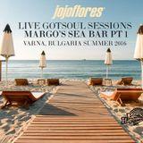 jojoflores /gotsoul rec. ca/ live dj set @ margo's sea bar, varna, bulgaria; pt.1; summer 2016