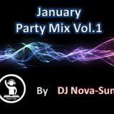 January Party Mix Vol.1 (DJ Nova-Sun Mix)