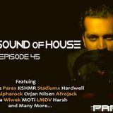 Parax- The Sound Of House Episode # 45