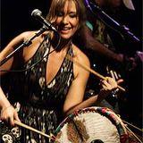 Raquel Coutinho no estúdio ONS, Janeiro de 2010