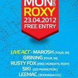 DJ LeeMac @ ROXY Prague 23.4.2012 (preview)