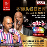 Swagger the all nighter 17th June 2017 Disc 4 - Chuck Melody.