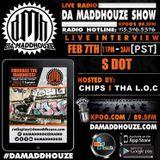 S Dot calls into Da Maddhouze on KPOO 89.5 FM
